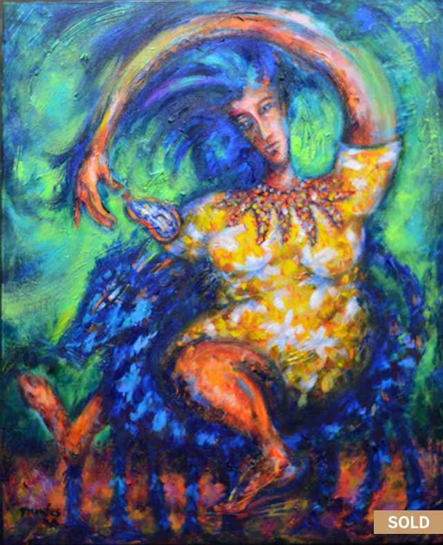 Elasticidad del Tiempo painting by Pablo Montes