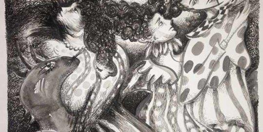 Noche de Verbena drawing by Pablo Montes