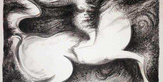 Corrida en Crepusculo Drawing by Pablo Montes