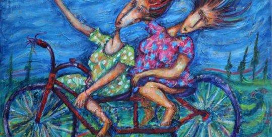 Pasa- Tiempo painting by Pablo Montes