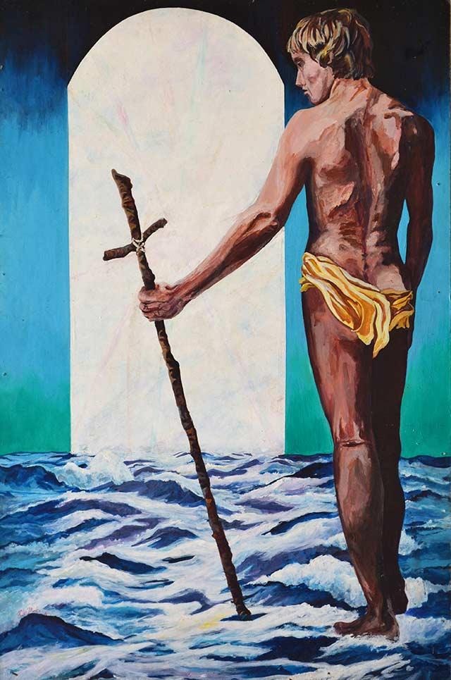 pintura hecha en decimo grado por Pablo Montes