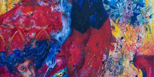 El Encantador acrylic painting by Pablo Montes