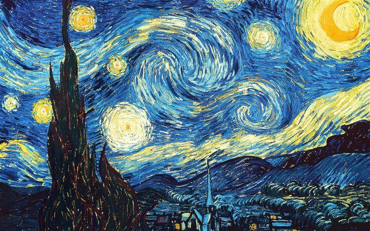 Learning from Vincent Van Gogh