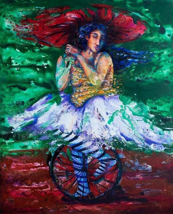 Retro Memoria, painting