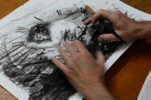 Read more about the article Hilo, Plumilla y Acuarela Líquida para Dibujo
