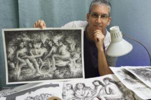 Read more about the article Cómo añadir intensidad y energía al dibujo a tinta