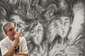 Read more about the article Como enriquecer los dibujos con plumilla