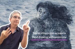Read more about the article Comprobando con azul los dibujos a plumilla 3