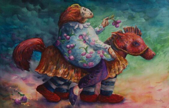 Watercolor Senda Inconsciente